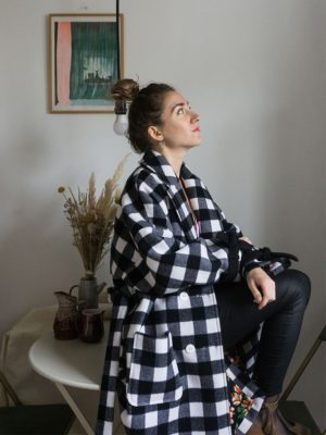 manteau oversize éco-responsable